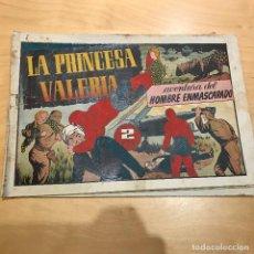 Tebeos: AVETNURAS DEL HOMBRE ENMASCARADO . LA PRINCESA VALERIA .. Lote 107223039
