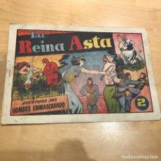 Tebeos: AVENTURA DEL HOMBRE ENMASCARADO. LA REINA ASTA.. Lote 107223187