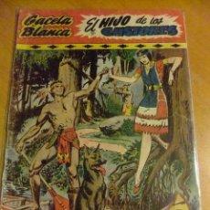 Tebeos: GACELA BLANCA ORIGINAL 1949 HISPANO AMERICANA Nº 1 ORIGINAL. Lote 107328115