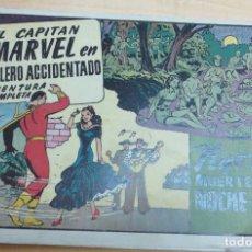 Tebeos: EL CAPITÁN MARVEL EN BOLERO ACCIDENTADO NYOKA MUERTE EN LA NOCHE Nº 56 ORIGINAL. Lote 107517531