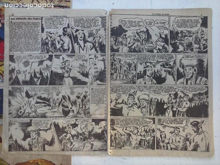 Tebeos: GACELA BLANCA ORIGINAL 1949 - LOTE NºS - 2,3,5,6,7,8,9,10,11,12,13,14,15,16,17,18,19,20,21 - Foto 8 - 107829823