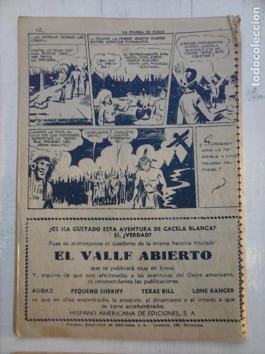 Tebeos: GACELA BLANCA ORIGINAL 1949 - LOTE NºS - 2,3,5,6,7,8,9,10,11,12,13,14,15,16,17,18,19,20,21 - Foto 10 - 107829823