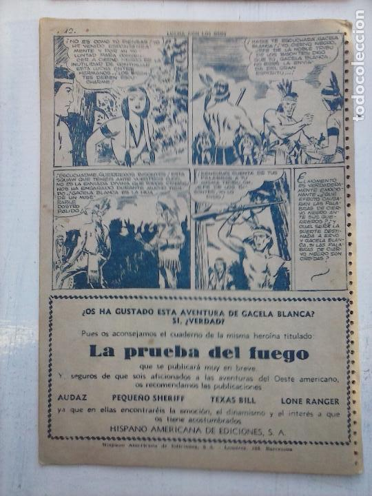 Tebeos: GACELA BLANCA ORIGINAL 1949 - LOTE NºS - 2,3,5,6,7,8,9,10,11,12,13,14,15,16,17,18,19,20,21 - Foto 11 - 107829823
