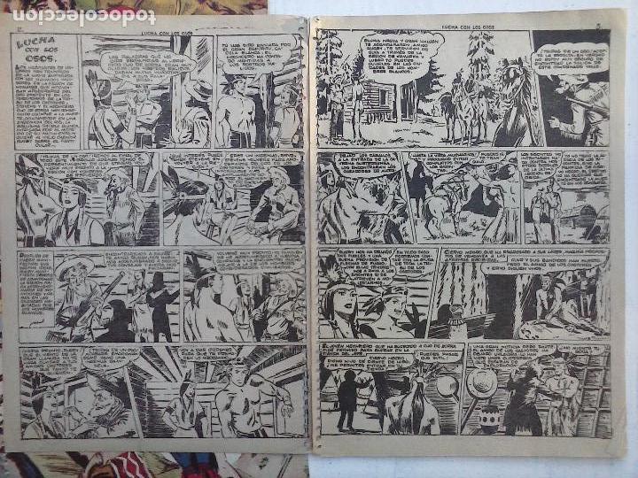 Tebeos: GACELA BLANCA ORIGINAL 1949 - LOTE NºS - 2,3,5,6,7,8,9,10,11,12,13,14,15,16,17,18,19,20,21 - Foto 12 - 107829823