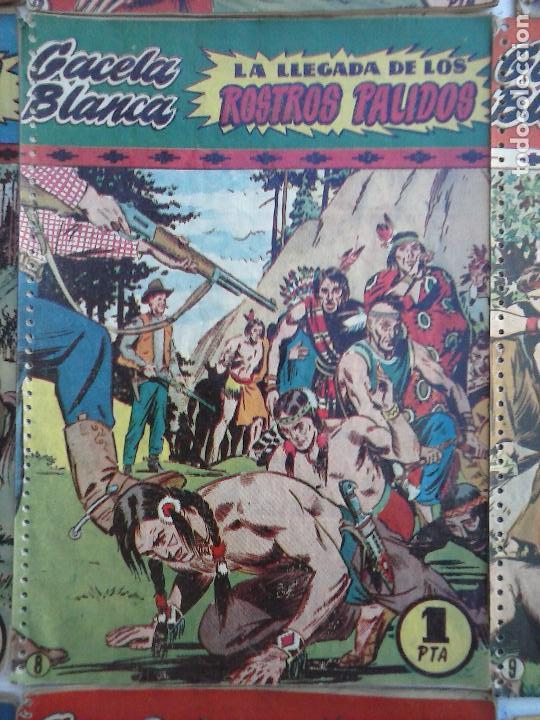 Tebeos: GACELA BLANCA ORIGINAL 1949 - LOTE NºS - 2,3,5,6,7,8,9,10,11,12,13,14,15,16,17,18,19,20,21 - Foto 15 - 107829823