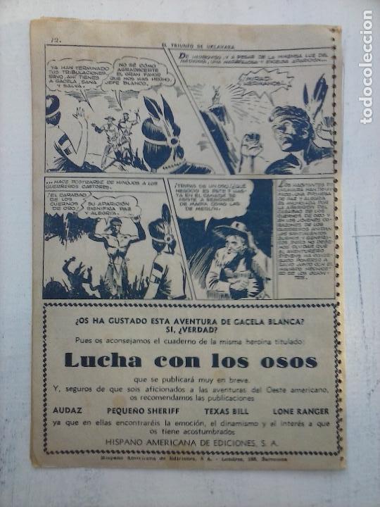 Tebeos: GACELA BLANCA ORIGINAL 1949 - LOTE NºS - 2,3,5,6,7,8,9,10,11,12,13,14,15,16,17,18,19,20,21 - Foto 17 - 107829823