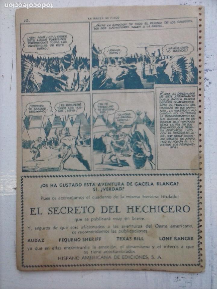 Tebeos: GACELA BLANCA ORIGINAL 1949 - LOTE NºS - 2,3,5,6,7,8,9,10,11,12,13,14,15,16,17,18,19,20,21 - Foto 19 - 107829823