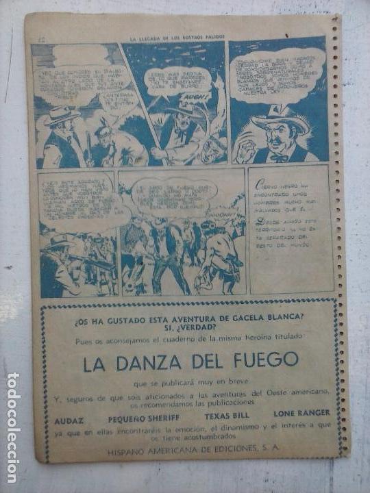 Tebeos: GACELA BLANCA ORIGINAL 1949 - LOTE NºS - 2,3,5,6,7,8,9,10,11,12,13,14,15,16,17,18,19,20,21 - Foto 21 - 107829823
