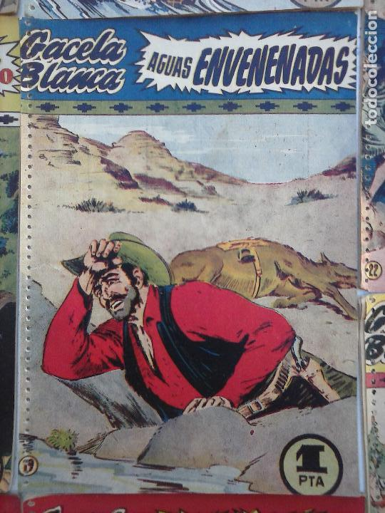 Tebeos: GACELA BLANCA ORIGINAL 1949 - LOTE NºS - 2,3,5,6,7,8,9,10,11,12,13,14,15,16,17,18,19,20,21 - Foto 23 - 107829823