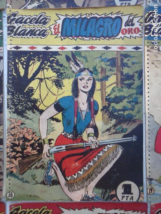 Tebeos: GACELA BLANCA ORIGINAL 1949 - LOTE NºS - 2,3,5,6,7,8,9,10,11,12,13,14,15,16,17,18,19,20,21 - Foto 24 - 107829823