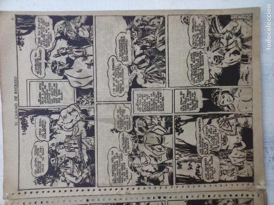 Tebeos: GACELA BLANCA ORIGINAL 1949 - LOTE NºS - 2,3,5,6,7,8,9,10,11,12,13,14,15,16,17,18,19,20,21 - Foto 32 - 107829823