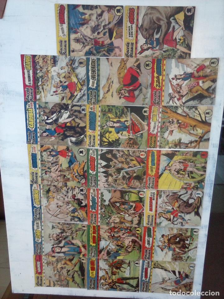 Tebeos: GACELA BLANCA ORIGINAL 1949 - LOTE NºS - 2,3,5,6,7,8,9,10,11,12,13,14,15,16,17,18,19,20,21 - Foto 34 - 107829823