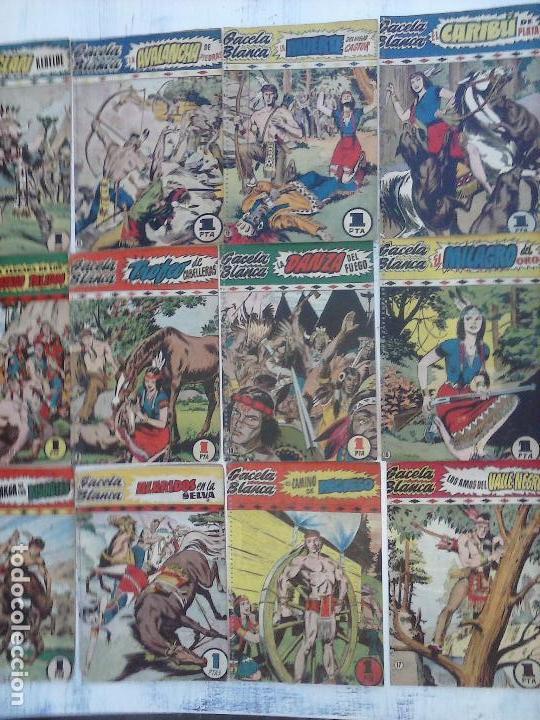 Tebeos: GACELA BLANCA ORIGINAL 1949 - LOTE NºS - 2,3,5,6,7,8,9,10,11,12,13,14,15,16,17,18,19,20,21 - Foto 36 - 107829823