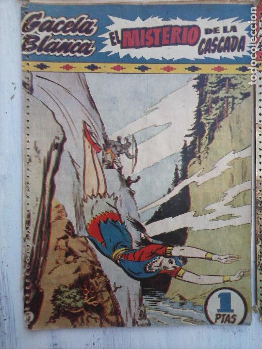 Tebeos: GACELA BLANCA ORIGINAL 1949 - LOTE NºS - 2,3,5,6,7,8,9,10,11,12,13,14,15,16,17,18,19,20,21 - Foto 37 - 107829823