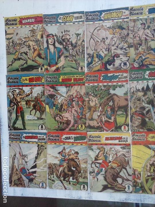 Tebeos: GACELA BLANCA ORIGINAL 1949 - LOTE NºS - 2,3,5,6,7,8,9,10,11,12,13,14,15,16,17,18,19,20,21 - Foto 41 - 107829823