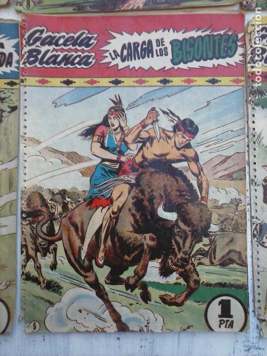 Tebeos: GACELA BLANCA ORIGINAL 1949 - LOTE NºS - 2,3,5,6,7,8,9,10,11,12,13,14,15,16,17,18,19,20,21 - Foto 42 - 107829823
