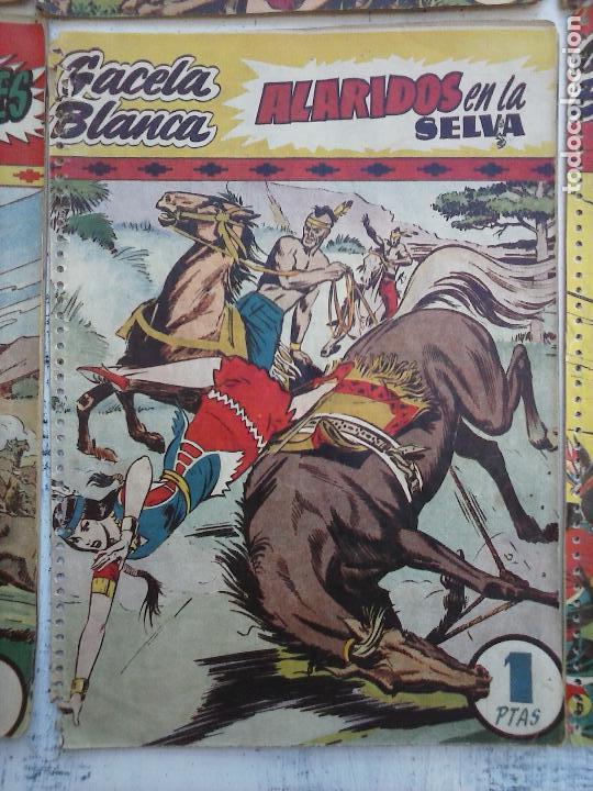 Tebeos: GACELA BLANCA ORIGINAL 1949 - LOTE NºS - 2,3,5,6,7,8,9,10,11,12,13,14,15,16,17,18,19,20,21 - Foto 43 - 107829823