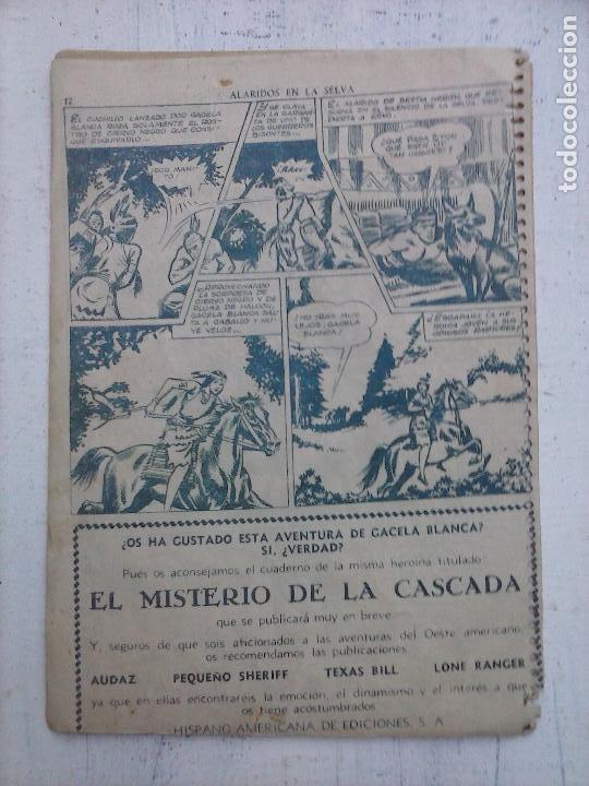 Tebeos: GACELA BLANCA ORIGINAL 1949 - LOTE NºS - 2,3,5,6,7,8,9,10,11,12,13,14,15,16,17,18,19,20,21 - Foto 44 - 107829823