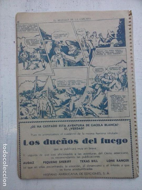 Tebeos: GACELA BLANCA ORIGINAL 1949 - LOTE NºS - 2,3,5,6,7,8,9,10,11,12,13,14,15,16,17,18,19,20,21 - Foto 46 - 107829823