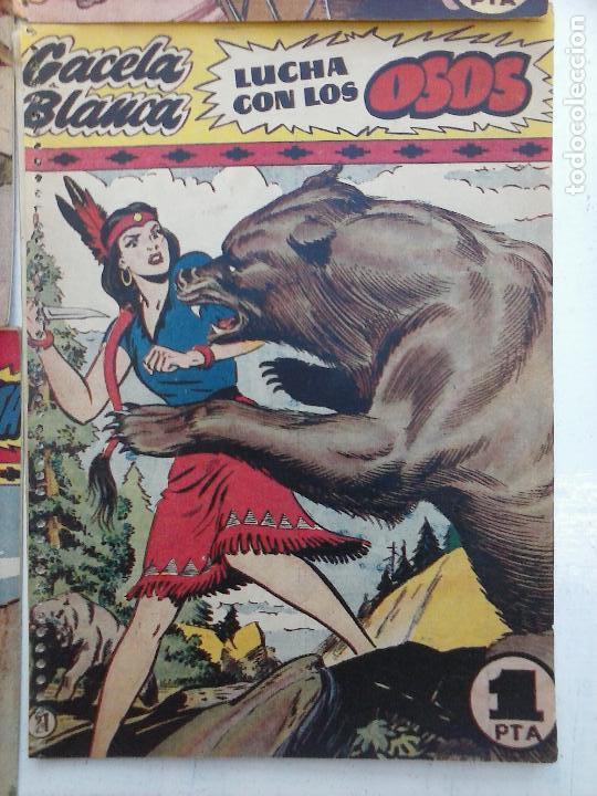 Tebeos: GACELA BLANCA ORIGINAL 1949 - LOTE NºS - 2,3,5,6,7,8,9,10,11,12,13,14,15,16,17,18,19,20,21 - Foto 53 - 107829823
