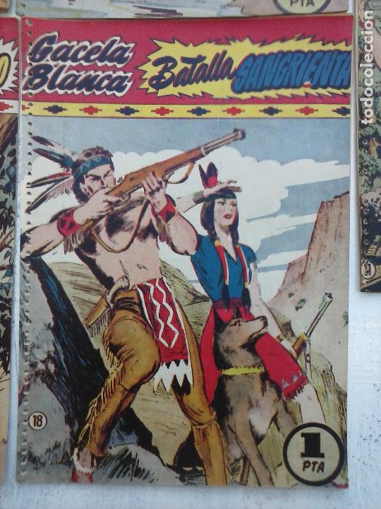 Tebeos: GACELA BLANCA ORIGINAL 1949 - LOTE NºS - 2,3,5,6,7,8,9,10,11,12,13,14,15,16,17,18,19,20,21 - Foto 54 - 107829823