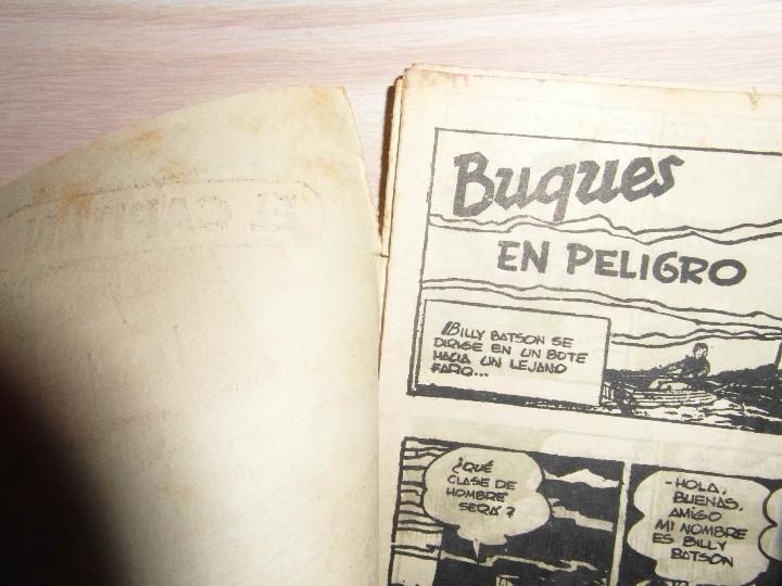 Tebeos: El Capitan Marvel. Buques en peligro nº 31. Hispano Americana. Original - Foto 4 - 94407466
