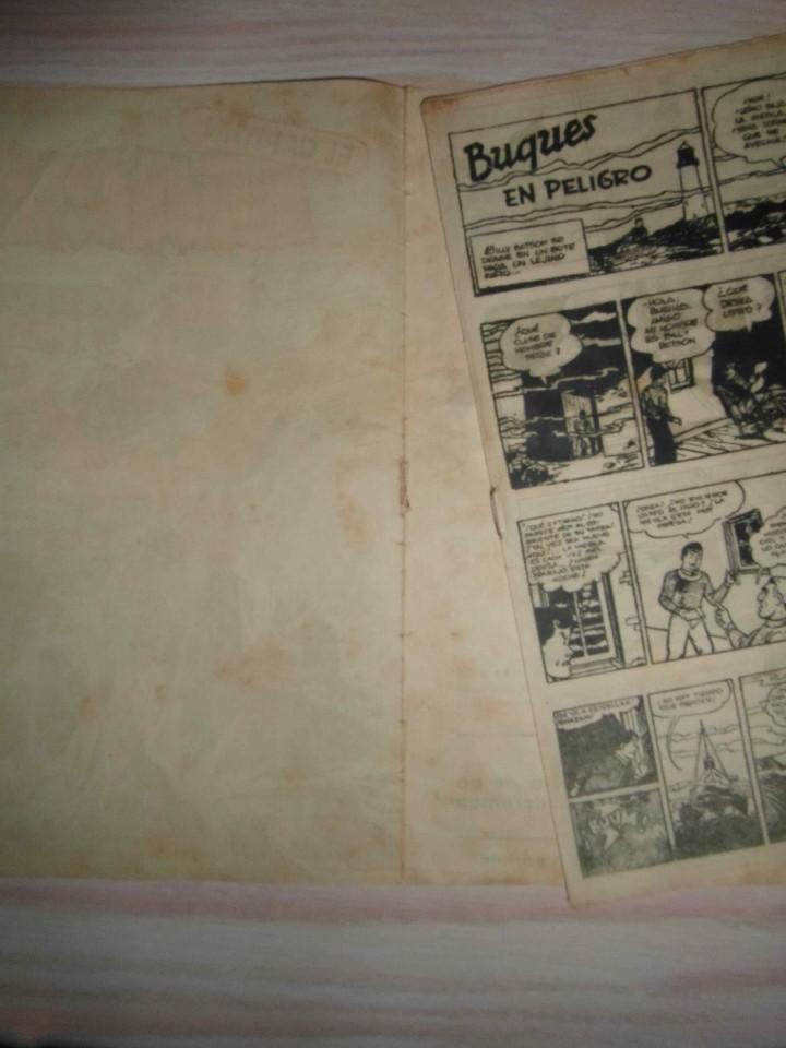 Tebeos: El Capitan Marvel. Buques en peligro nº 31. Hispano Americana. Original - Foto 6 - 94407466