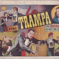Tebeos: COMIC COLECCION MERLIN REY DE LA MAGIA Nº 45. Lote 107966423