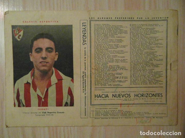 Tebeos: EL lanzador de cuchillos. nº 69 de Audaz. Hispano Americana.1940.C. Cossio.Futbol Trompi Granada - Foto 2 - 108115963