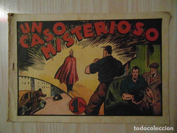 UN CASO MISTERIOSO. Nº 55 DE AUDAZ. JUAN CENTELLA. HISPANO AMERICANA. 1940. C. COSSIO (Tebeos y Comics - Hispano Americana - Otros)
