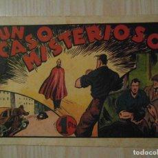 Tebeos: UN CASO MISTERIOSO. Nº 55 DE AUDAZ. JUAN CENTELLA. HISPANO AMERICANA. 1940. C. COSSIO. Lote 108117195