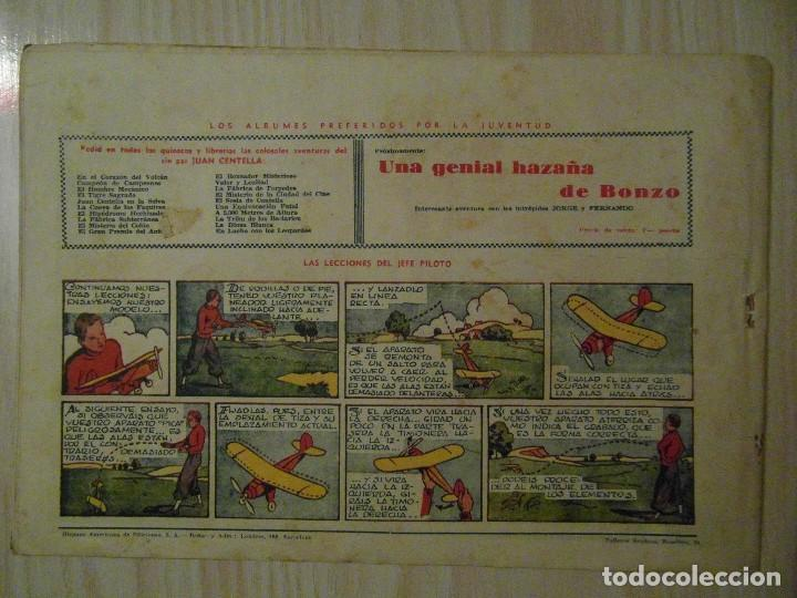 Tebeos: Un caso misterioso. nº 55 de Audaz. Juan Centella. Hispano Americana. 1940. C. Cossio - Foto 2 - 108117195