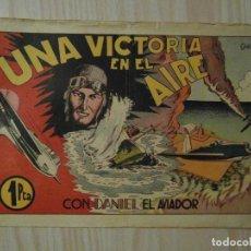 Tebeos: UNA VICTORIA EN EL AIRE. Nº 5 DE DANI EL AVIADOR. HISPANO AMERICANA. 1943. J.R. DEL VILLAR. Lote 108228531