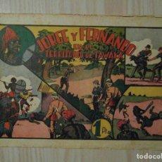 Tebeos: EN EL TERRITORIO DE TAWAKA. Nº 34 DE JORGE Y FERNANDO. HISPANO AMERICANA. 1940. LYMAN YOUNG. Lote 108234279