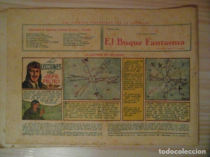 Tebeos: En el territorio de Tawaka. nº 34 de Jorge y Fernando. Hispano Americana. 1940. Lyman Young - Foto 3 - 108234279