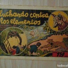 Tebeos: LUCHANDO CONTRA LOS ELEMENTOS. Nº 9 JUAN Y LUIS. HISPANO AMERICANA. 1942. GIOVE TOPPI. Lote 108235611