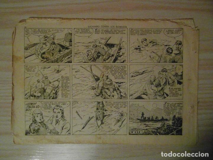 Tebeos: Luchando contra los elementos. nº 9 Juan y Luis. Hispano Americana. 1942. Giove Toppi - Foto 3 - 108235611