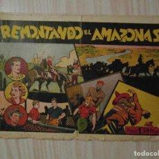 Tebeos: REMONTANDO EL AMAZONAS. Nº 9 JUAN Y LUIS. HISPANO AMERICANA. 1942. GIOVE TOPPI. Lote 108236083