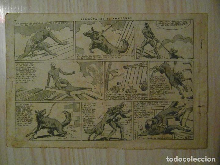Tebeos: Remontando el amazonas. nº 9 Juan y Luis. Hispano Americana. 1942. Giove Toppi - Foto 2 - 108236083