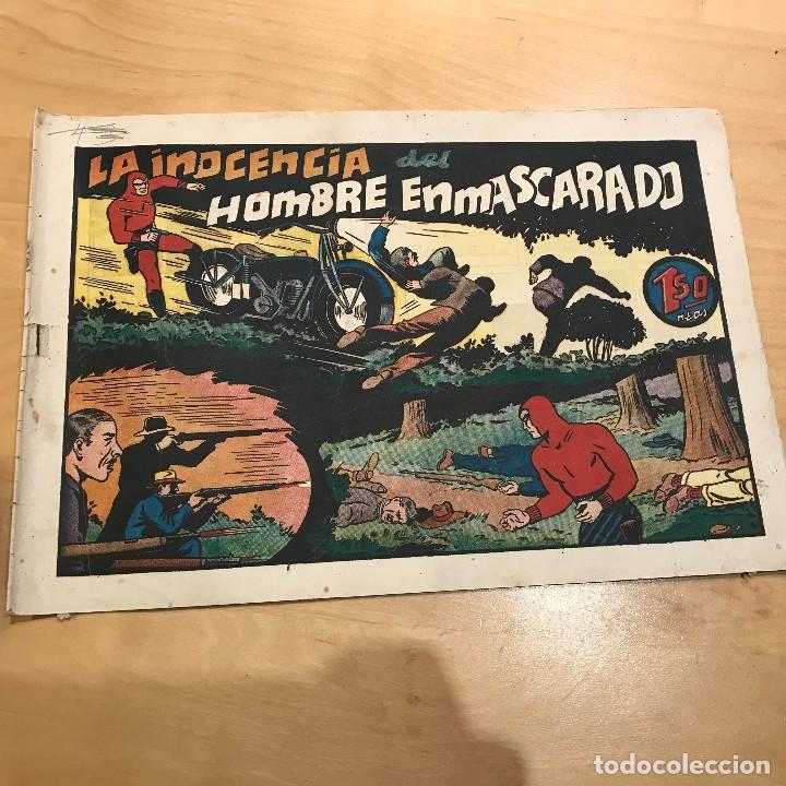 AVENTURAS DEL HOMBRE ENMASCARADO. LA INOCENCIA DEL HOMBRE ENMASCARADO. (Tebeos y Comics - Hispano Americana - Hombre Enmascarado)