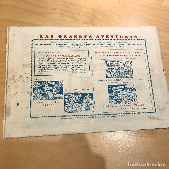 Tebeos: AVENTURAS DEL HOMBRE ENMASCARADO. LA INOCENCIA DEL HOMBRE ENMASCARADO. - Foto 2 - 192226406
