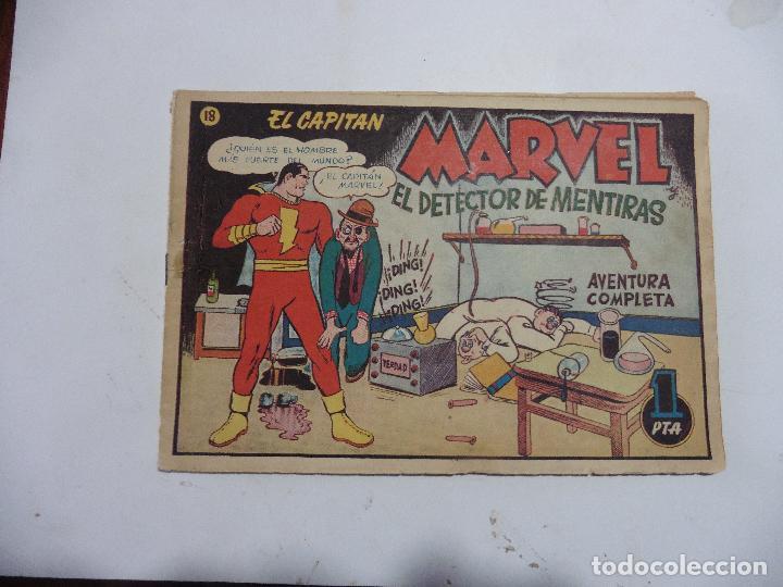 CAPITAN MARAVEL Nº 18 ORIGINAL (Tebeos y Comics - Hispano Americana - Capitán Marvel)