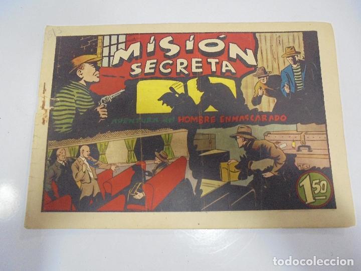 TEBEO. AVENTURA DEL HOMBRE ENMASCARADO. Nº 64. MISION SECRETA (Tebeos y Comics - Hispano Americana - Hombre Enmascarado)