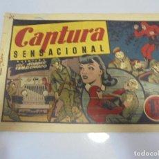 Tebeos: TEBEO. AVENTURA DEL HOMBRE ENMASCARADO. Nº 56. CAPTURA SENSACIONAL. Lote 108704711