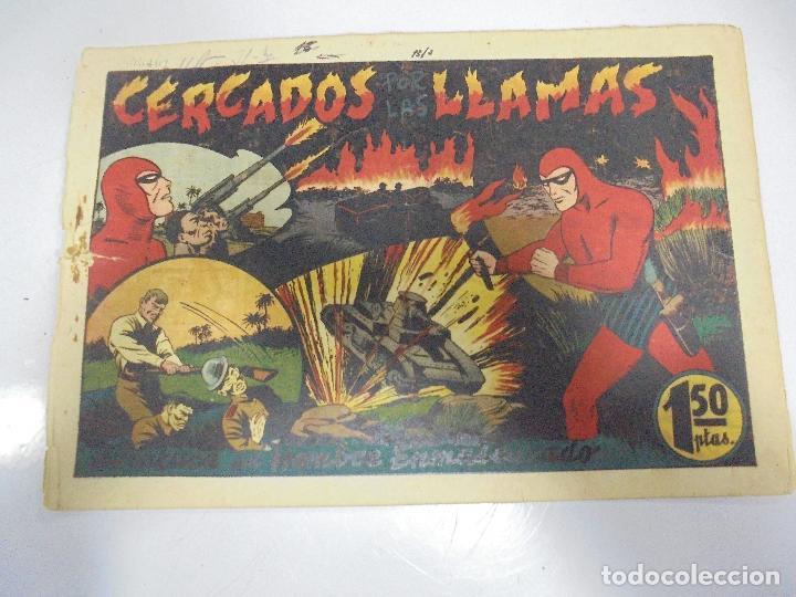 TEBEO. AVENTURA DEL HOMBRE ENMASCARADO. Nº 55. CERCADOS POR LAS LLAMAS (Tebeos y Comics - Hispano Americana - Hombre Enmascarado)