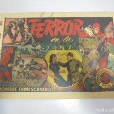 Tebeos: TEBEO. AVENTURA DEL HOMBRE ENMASCARADO. Nº 50. TERROR EN LA SELVA. Lote 108704983