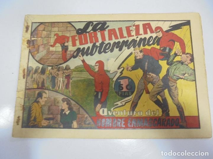 TEBEO. AVENTURA DEL HOMBRE ENMASCARADO. Nº 43. LA FORTALEZA SUBTERRANEA (Tebeos y Comics - Hispano Americana - Hombre Enmascarado)