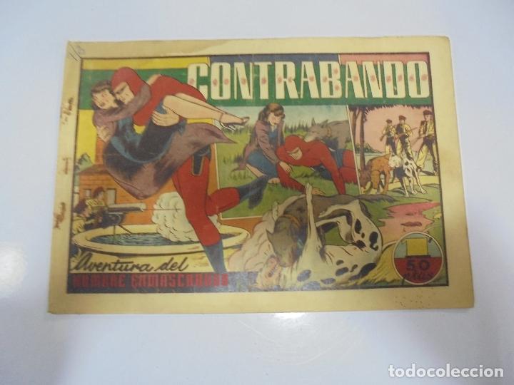 TEBEO. AVENTURA DEL HOMBRE ENMASCARADO. Nº 39. CONTRABANDO (Tebeos y Comics - Hispano Americana - Hombre Enmascarado)