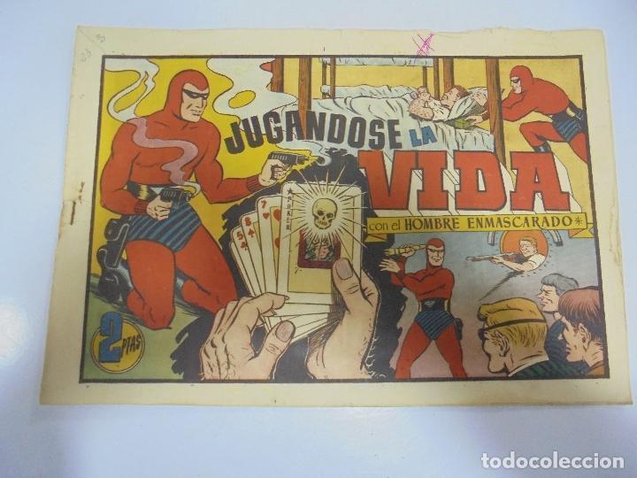 TEBEO. AVENTURA DEL HOMBRE ENMASCARADO. Nº 96. JUGANDOSE LA VIDA (Tebeos y Comics - Hispano Americana - Hombre Enmascarado)