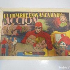Tebeos: TEBEO. AVENTURA DEL HOMBRE ENMASCARADO. Nº 78. EN ACCION. Lote 108706939